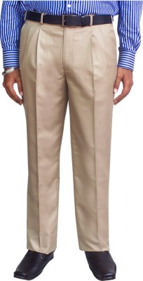 Kinger Regular Fit Men's Beige Trousers