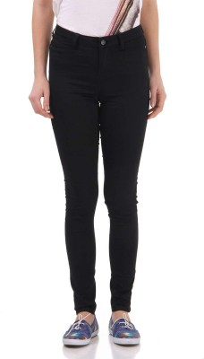 Vero Moda Regular Fit Women's Black Trousers