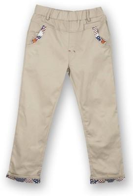 Lilliput Regular Fit Boy's Brown Trousers