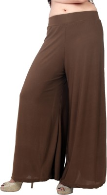 Bottoms More Regular Fit Women's Brown Trousers