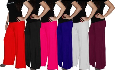 Xarans Regular Fit Women's Orange, Blue, Pink, Black, White, Red Trousers