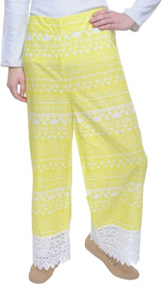 Free Living Regular Fit Women's Yellow, White Trousers