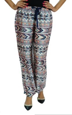Goodwill Impex Regular Fit Women's Multicolor Trousers
