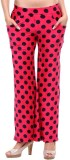 Clotone Regular Fit Women's Red Trousers