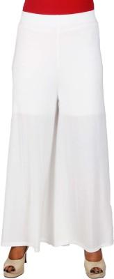 SRS Regular Fit Women's White Trousers