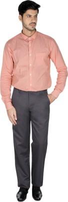 Pescis Regular Fit Men's Black Trousers