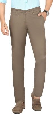 Sloper Slim Fit Men's Green Trousers