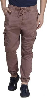 MONTEIL & MUNERO Regular Fit Men,s Brown Trousers