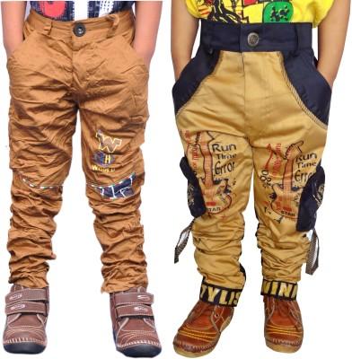 AD & AV Regular Fit Boys Multicolor Trousers