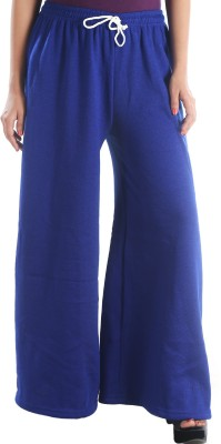 Stay Blessed Regular Fit Women's Dark Blue Trousers