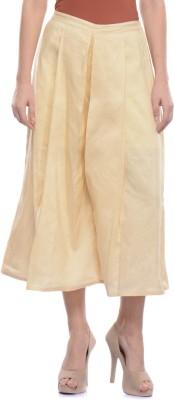 Lavennder Regular Fit Women's Beige Trousers