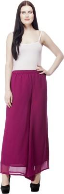 Selfie Regular Fit Women's Purple Trousers