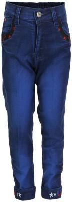 benext Regular Fit Boy's Denim Blue Trousers
