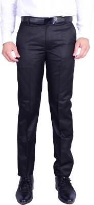Machu Regular Fit Men's Black Trousers