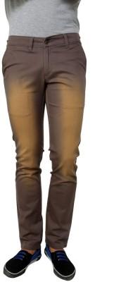 Zaab Slim Fit Men,s Grey Trousers