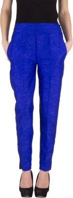Castle Regular Fit Women's Blue Trousers