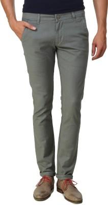 Men In Class Slim Fit Men's Grey Trousers