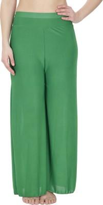 Secret Wish Regular Fit Women's Green Trousers