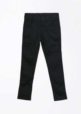 Cherokee Kids Slim Fit Girl,s Black Trousers