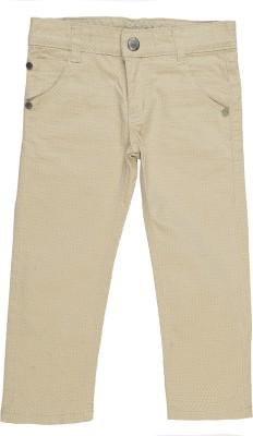 Addyvero Slim Fit Girl's Beige Trousers