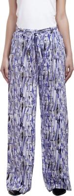 Urban Rust Slim Fit Women's Purple Trousers