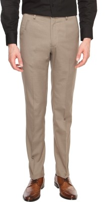 Arrow Newyork Slim Fit Men's Beige Trousers