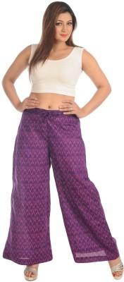 Salwar Studio Regular Fit Women's Purple Trousers