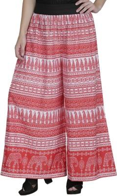 Shopping Villa Regular Fit Women's Red Trousers