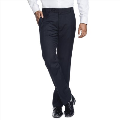 Adam In Style Regular Fit Men's Blue Trousers