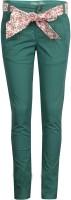 Gini & Jony Slim Fit Baby Girls Green Trousers best price on Flipkart @ Rs. 599