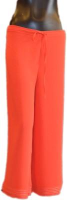 Xpression Regular Fit Women's Orange Trousers