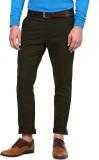 AD & AV Regular Fit Men's Green Trousers