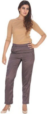 Fast n Fashion Regular Fit Women's Red Trousers