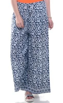 Lyla Regular Fit Women's Black, White Trousers