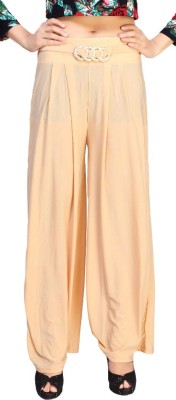Comix Regular Fit Womens Beige Trousers