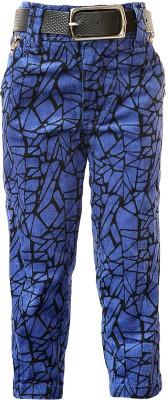 Generationext Regular Fit Boy's Blue Trousers