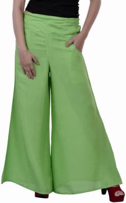 Inblue Fashions Regular Fit Women,s Light Green Trousers