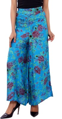 GMI Regular Fit Women's Light Blue Trousers