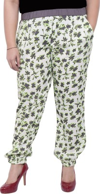LASTINCH Regular Fit Women's Cream Trousers at flipkart