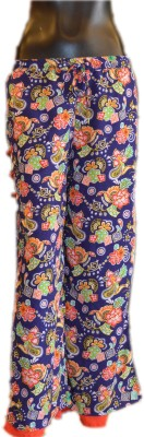 Xpression Regular Fit Women's Dark Blue Trousers