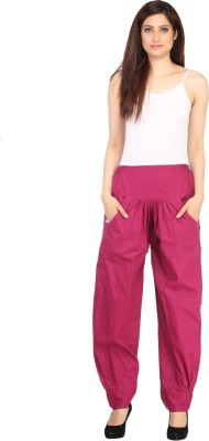 Ankita Solid Cotton Women's Harem Pants