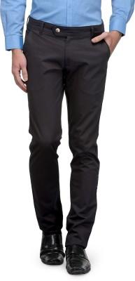 Canary London Slim Fit Men's Black Trousers
