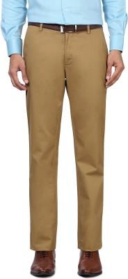 Allen Solly Regular Fit Men,s Beige Trousers