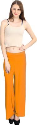 ELVIN Regular Fit Women's Orange Trousers