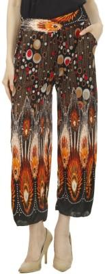 Camey Regular Fit Women's Orange Trousers