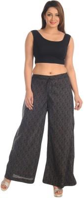 Salwar Studio Regular Fit Women's Black, Grey Trousers
