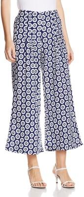 Atayant Regular Fit Women's Blue Trousers