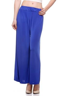Fasnoya Regular Fit Women's Dark Blue Trousers