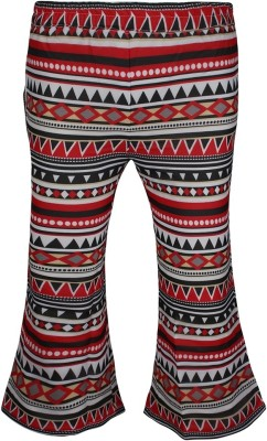 Jazzup Regular Fit Girl's Red, Black Trousers