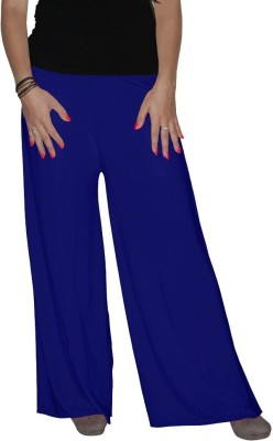shrayst fashion Regular Fit Women's Blue Trousers